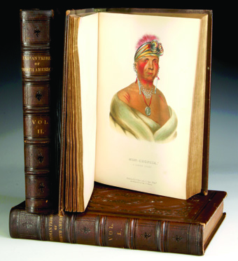 History of the Indian Tribes of North America in three volumes, Thomas L. McKenney, James Hall, 1855