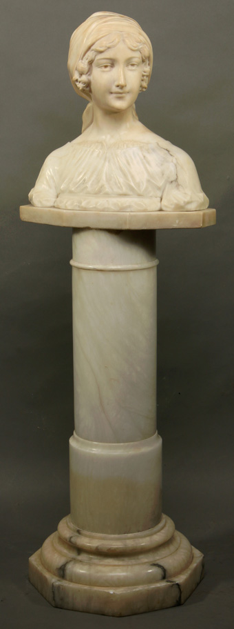 Bronze and Marble Sculpture