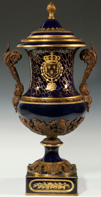 19th Century French Porcelain Urn