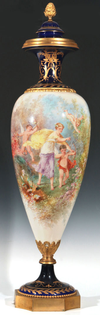 Early 20th Century Sevres Type Vase