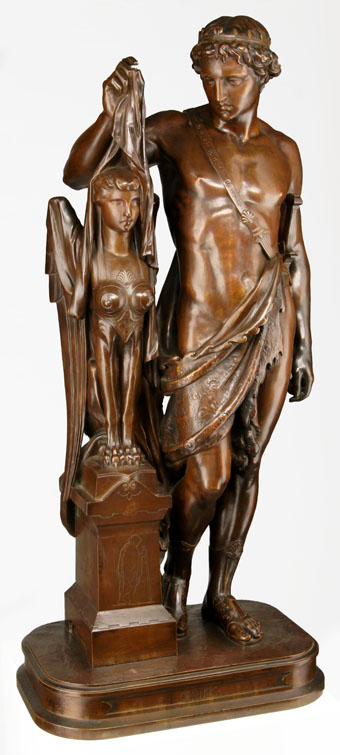 Pierre Eugene Emile-Hebert (1828-1893) Bronze Sculpture