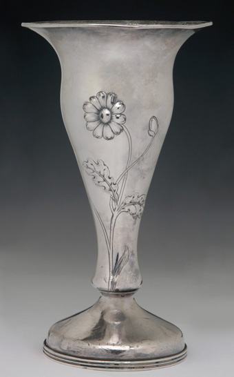 Frisco Railroad Bottom Marked Flower Vase