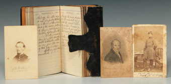 Diary and Images of Capt. A. Collins, 1863