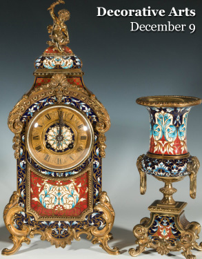 Friday, December 9th - Winter Auction of Fine and Decorative Arts