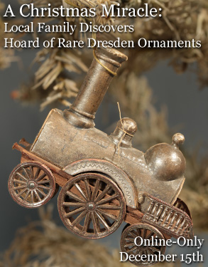 A Christmas Miracle: Local Family Discovers Hoard of Rare Dresden Ornaments