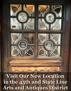 Visit our new Exhibition Space in the 45th & State Line Antiques District