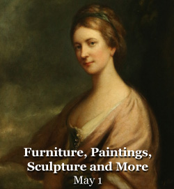 May 1 - Furniture, Paintings, Sculpture and More