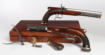 18th C. Duelling Pistols