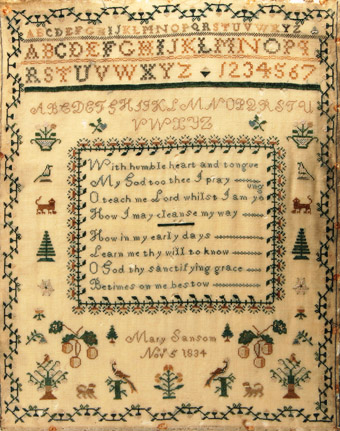 Early 19th C Samplers