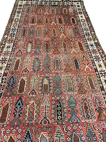 Several Good Antique Rugs and Bag Face Pairs