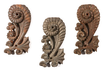 Louis Sullivan Iron Ornaments