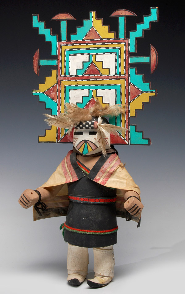 A Collection of20th Century Kachina Dolls