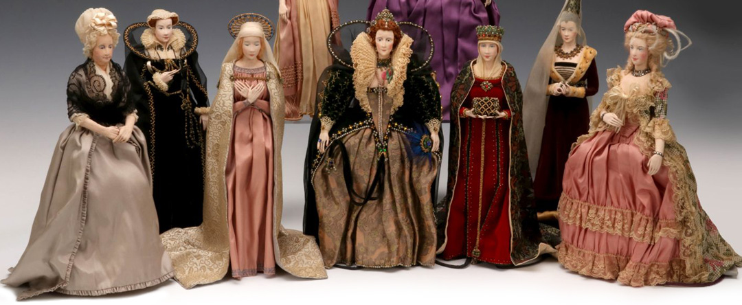 A Fabulous Collection of Rare Dorothy Wendell Heizer Portrait Dolls