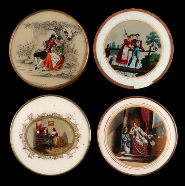 A Sample of the 19th Century French Dragees Candy Box Collection
