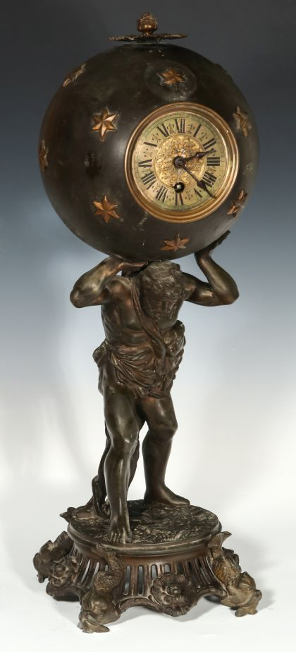 Ansonia and other Statue Clocks