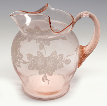 The Rarest Pieces of Pink Dogwood Depression Glass