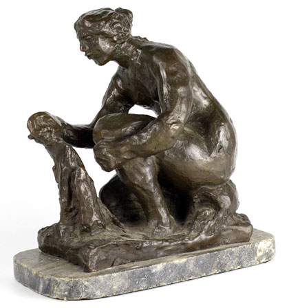 Bronze Sculpture after Auguste Renoir