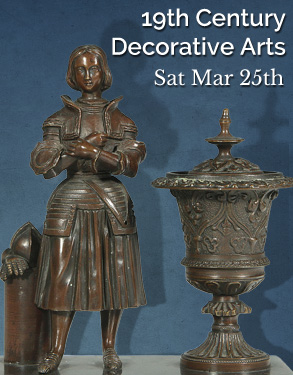 Mar. 25, 2017 - 19th and Early 20th Century Decorative Arts and Jewelry