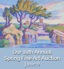 June 9 - Our 19th Annual Spring Art Auction