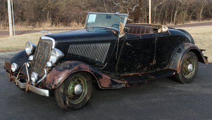 1934 Ford Roadster, All Original