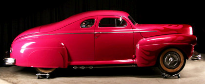 The Jelly Bean Chopped 1941 Ford Coupe