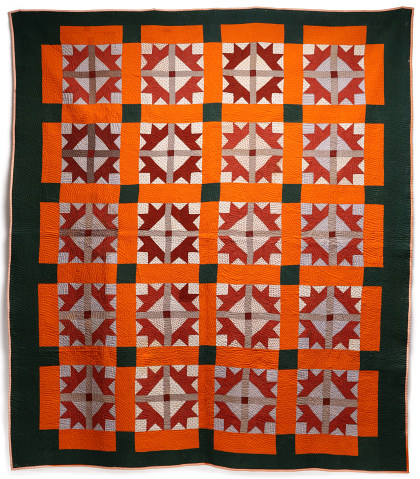 An Exceptional 19th Century Quilt