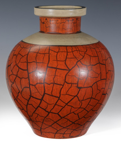 A Rare Camark Pottery Vase Designed by Alfred Tetzschner