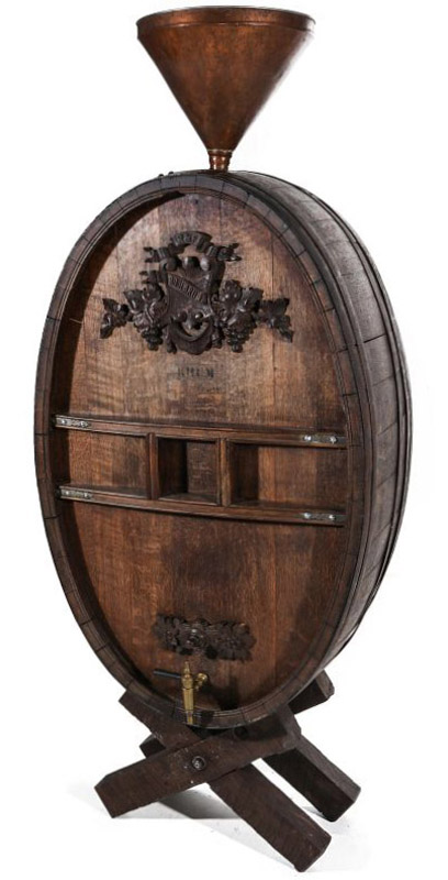 Antique Wine Cask, 62 Inches