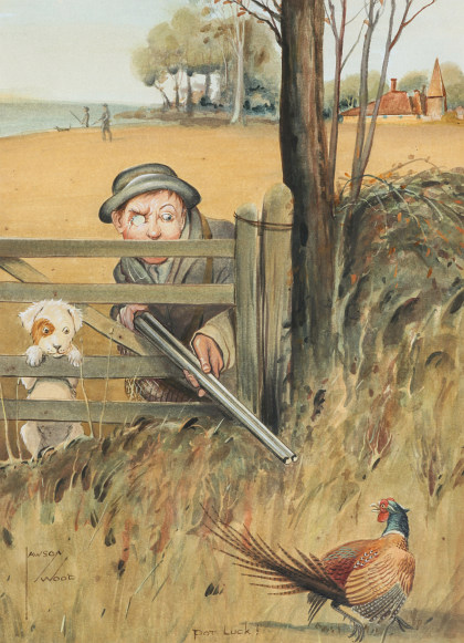 Lawson Wood (1878‑1957) Original Illustration Art