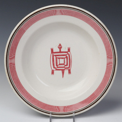 Santa Fe Railroad Dining Car China, Including Mimbreno Pattern