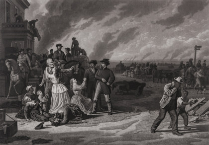 Over-Sized Folio,George Caleb Bingham,Mezzotint