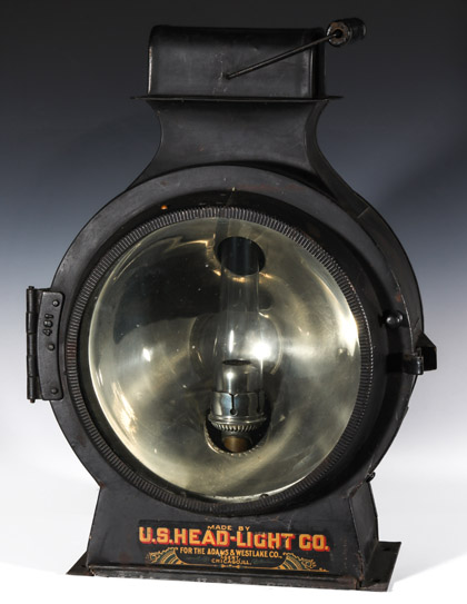Early Lanterns and Locomotive Headlights
