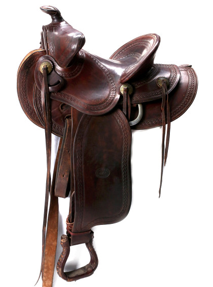 C.P. Shipley Saddle, Spurs, Chaps and More