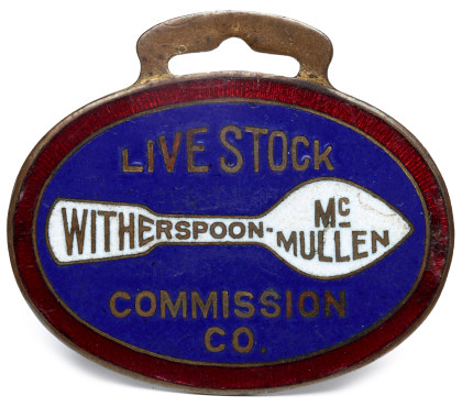 Livestock Commission Fobs and Badges