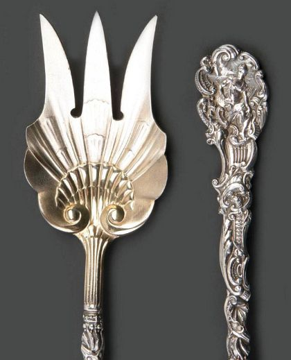 Versailles Pattern Art Nouveau Sterling Flatware by Gorham