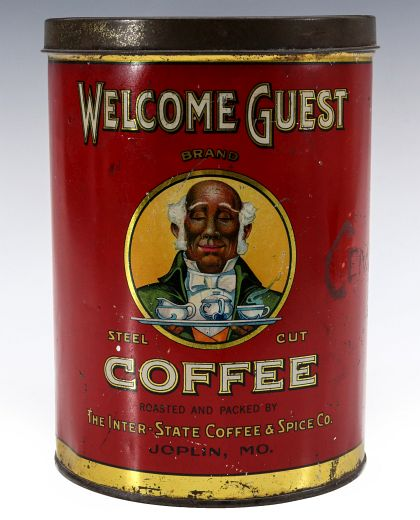 A Collection of Rare Coffee Tins