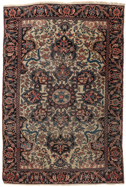 Antique Persian and Caucasian Hand‑Knotted Rugs