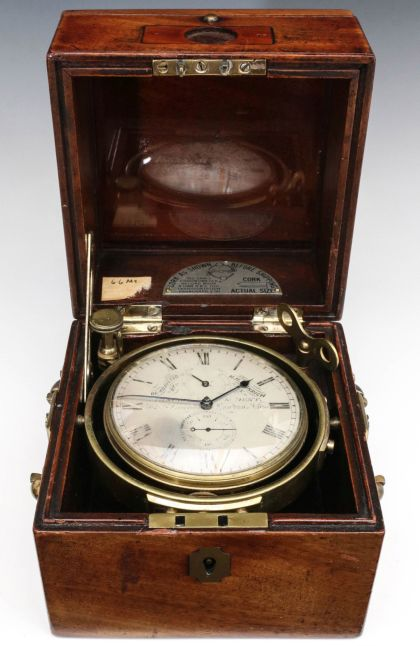 Six Good 19th Century Marine Chronometers