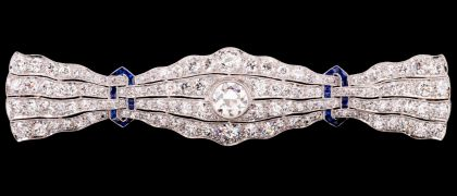 Very Fine Diamond and Gold Jewelry