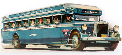 Bus and Early Airline Travel