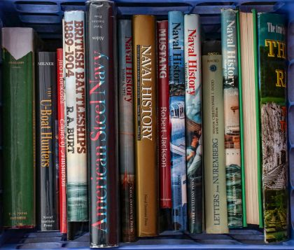 100s of Books on Military History, Railroad, Aviation, WWII and Much More