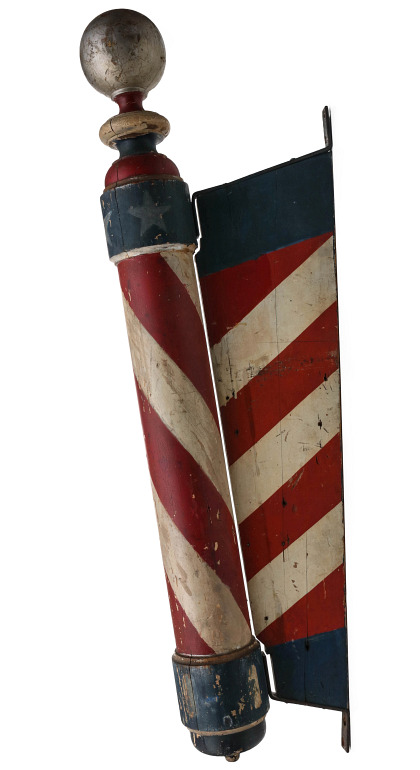 Barber Poles of All Types and Sizes