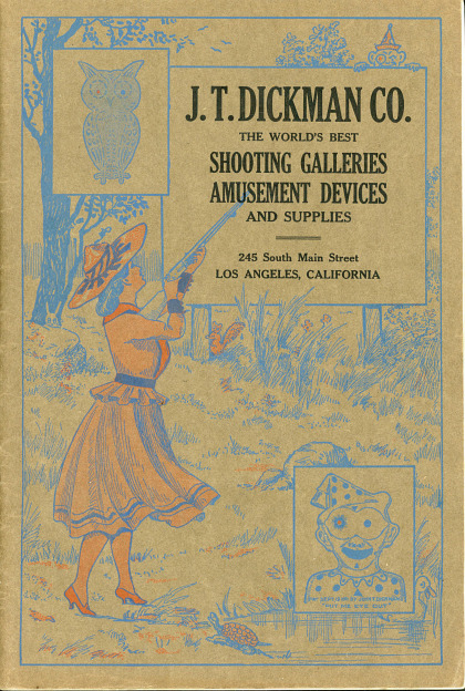 A Collection of Shooting Gallery Trade Catalogs and Ephemera