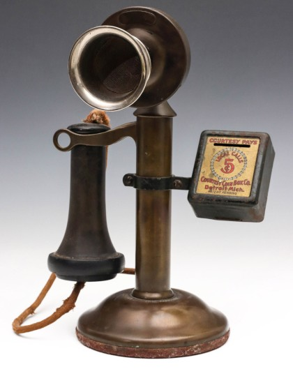 Candlestick Phone with Paybox