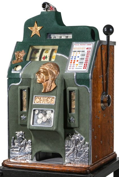 Small Collection of Slot Machines and Games