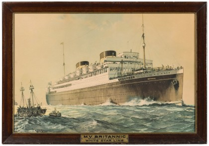 Steamship Advertising Posters