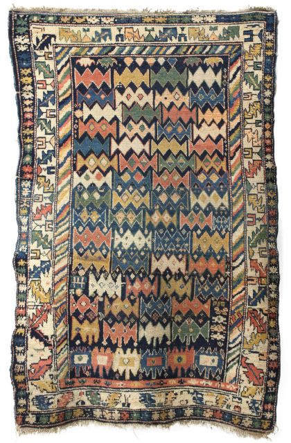 Unusual Antique Caucasian Rugs