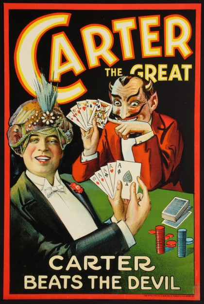 One of Two Carter Magic Posters
