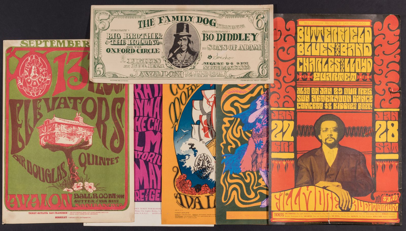7125: A COLLECTION OF 1960s PSYCHEDELIC CONCERT POSTERS