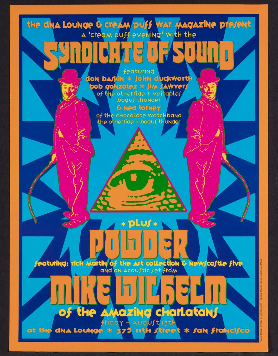 7141: A SYNDICATE OF SOUND PSYCHEDELIC CONCERT POSTER